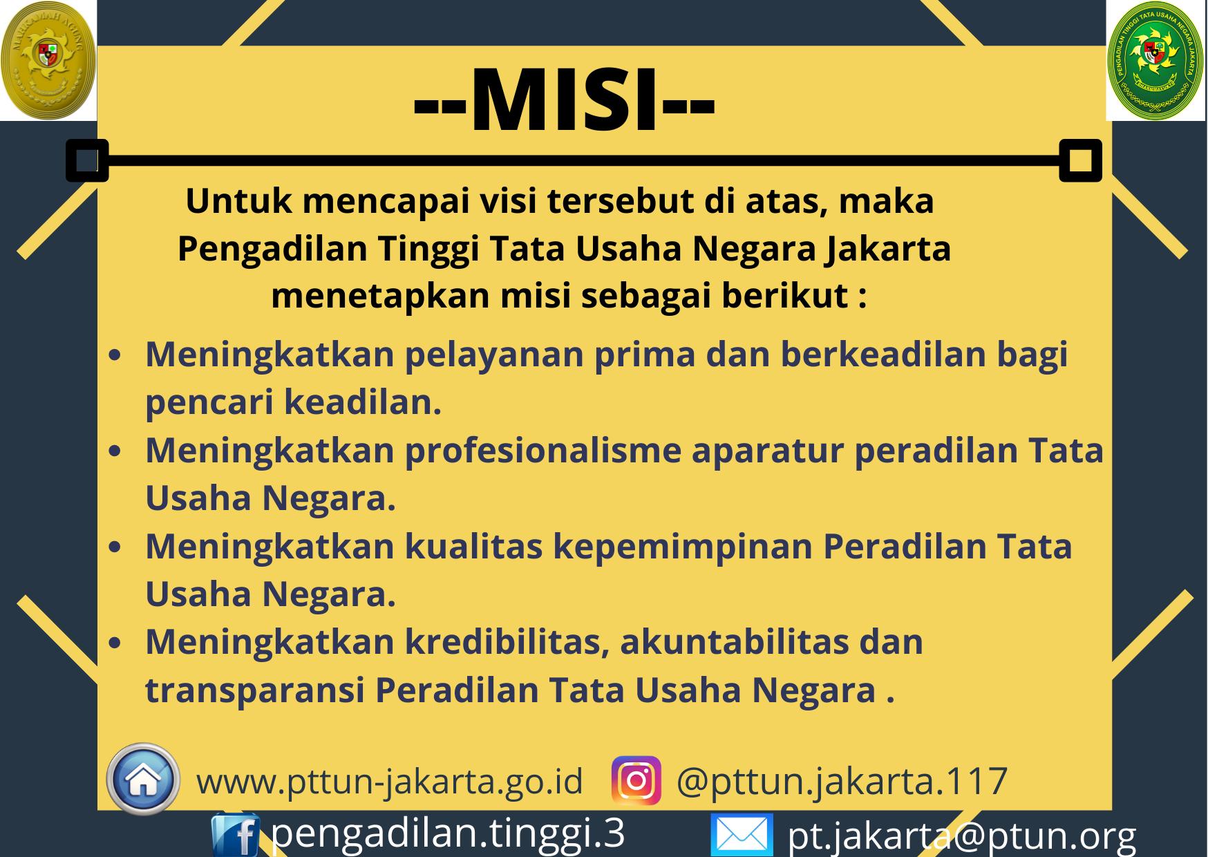 MISI PTTUN JAKARTA