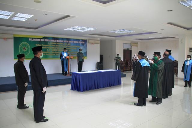 Pelantikan Ketua PTUN Bandung Dan PTUN Serang